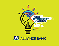 ALLIANCE BANK BizSmart Academy YEC 2016 Branding Design