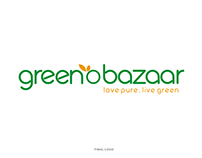 GreenObazaar : Corporate Identity Design