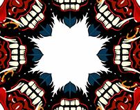 Maskerade on Adobe Illustrator on iPad