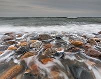 Rozewie Cap. Baltic Sea