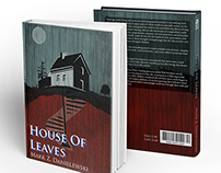 House Of Leaves Book Cover (full Sail)