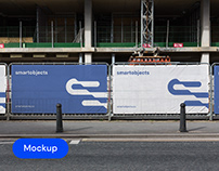 Heras Banners 01 | Signage Mockup Template