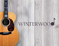 Winterwood Acoustic Music Group Business Cards