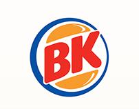 BK (Burger King) Rebranding