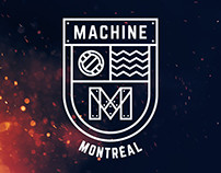 Machine Montreal — Logo Design