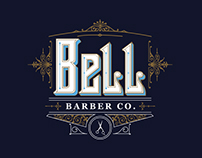 Bell Barber Co. Identity
