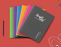 Bright Way || Editorial Design || Academic Book