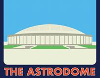 Houston Landmark Illustrations