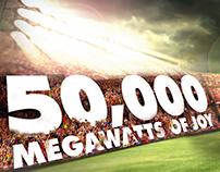 50000 Mega Watts Campaign