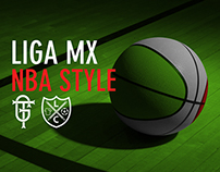 Liga MX - NBA Style