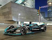 Formula E Gen2 Car Livery Design