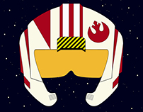 Star Wars - Rebel Aviator Helmet