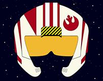 Star Wars - Rebel Aviator Helmet