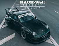 RWB Russia #2 - Porsche 993 - Bagheera. VIDEO.