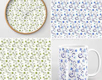 Ditzy Floral Print Collection