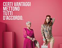 ADV campaign Banca Popolare di Vicenza