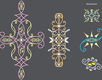 Art Deco vector designs