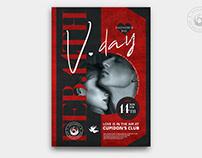 Valentines Day Flyer Template V26