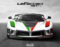 Ferrari LaFerrari FXXK Evo TEMA ITALIANO concept