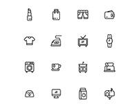 Everyday Stuff Icon Set