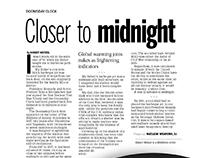 Newspaper layout/Graphic