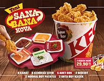 KFC - Sıkı Soslar Kutusu / Sana Bana Kova