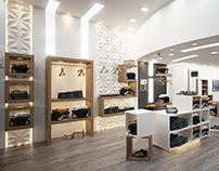 Modern Men Clothing Store Interior Design