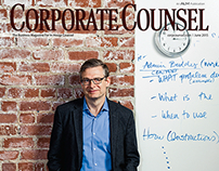 Corporate Counsel - photo edited by Alden Gewirtz