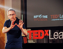 TEDxLeamingtonSpa 2016 'Rip Up The Rule Book'
