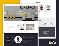 buro Furnitures Website Design