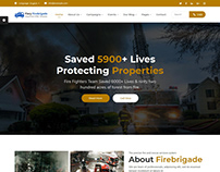 Fire Brigade Responsive HTML Template