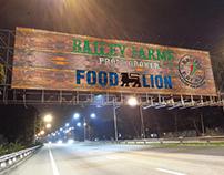 Billboard Designs for Food Lion