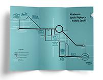 schemat trasy / route scheme