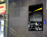 Ernst&Young Employer Brand - In store poster
