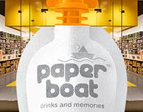 POP Dispenser for Paper Boat Drinks
