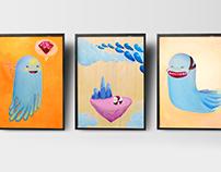 Blob painting series