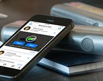 Aterica Digital Health - iOS app design