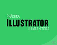 Practicando con Illustrator