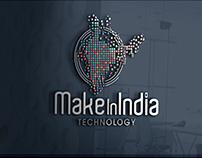 Make In India logo Design
