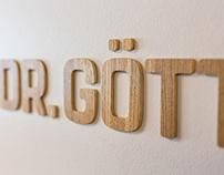 Corporate Design | Leitsystem | Dr. Göttinger