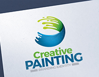 Creative Painting Logo Template