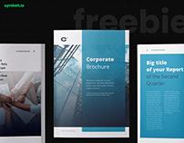 Free InDesign Template - Corporate Brochure