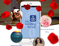 My Wedding Venue Finder App for iPhone and Android