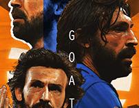 "Poster Kora ""Andrea Pirlo"""