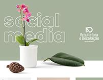 Redes Sociais - Arqdecor