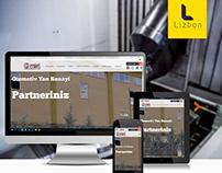 Ermet Makina Web Sitesi Projesi