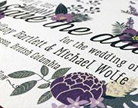 Tiffany & Michael - Wedding Invitations