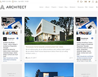 Blog Dual Sidebars Page - Architect WordPress Theme