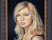 Portraits. Painting