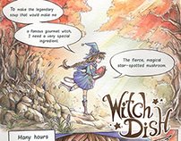 Witch Dish: short comic